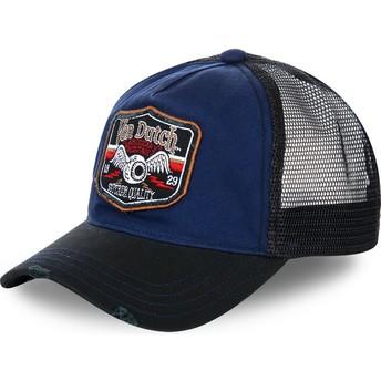 Cappellino trucker blu e nero TRUCK03 di Von Dutch