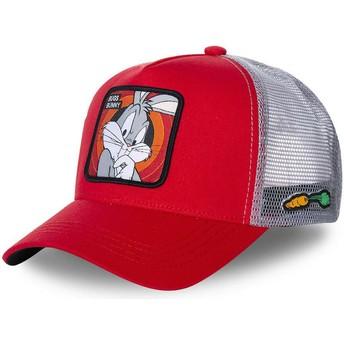 Cappellino trucker rosso Bugs Bunny BUG1 Looney Tunes di Capslab