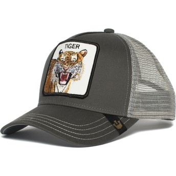 Cappellino trucker grigiotigre Eye of the Tiger di Goorin Bros.