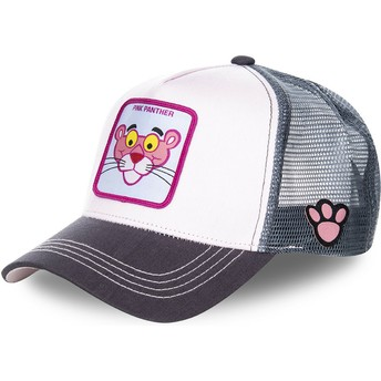 Cappellino trucker rosa e grigio La Pantera Rosa PANT1 di Capslab