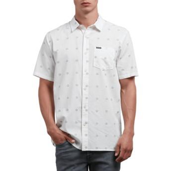 Camicia maniche corte bianca Trenton White di Volcom