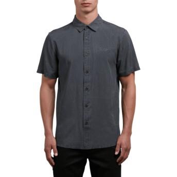 Camicia maniche corte nera Chill Out Black di Volcom