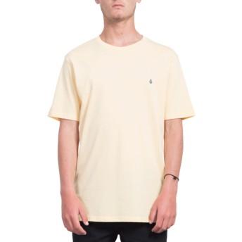 Maglietta maniche corte arancione Stone Blank Light Peach de Volcom