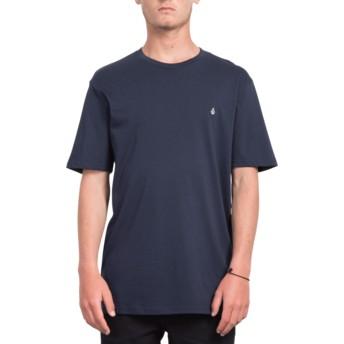 Maglietta maniche corte blu marino Stone Blank Navy de Volcom