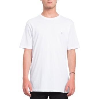 Maglietta maniche corte bianca Stone Blank White de Volcom