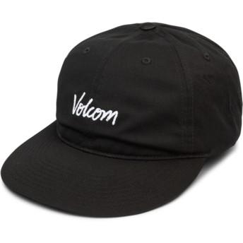 Cappellino visiera curva nero regolabile Volscripto Black di Volcom