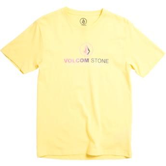 Maglietta maniche corte gialla per bambino Super Clean Division Yellow de Volcom