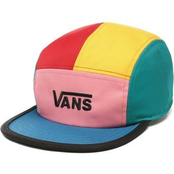 Cappellino 5 pannelli multicolore Patchy di Vans