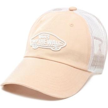 Cappellino trucker rosa Acer di Vans