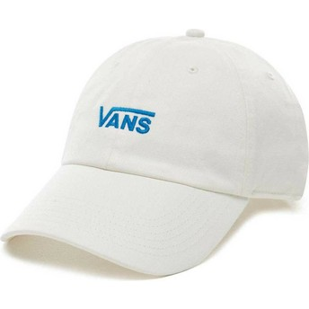 Cappellino visiera curva bianco regolabile Court Side di Vans