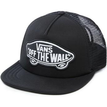 Cappellino trucker nero con logo Beach Girl di Vans