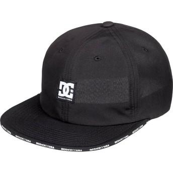 Cappellino visiera piatta nero regolabile Sandwich di DC Shoes