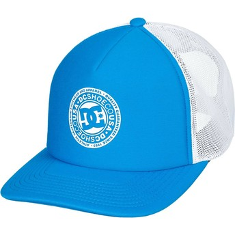 Cappellino trucker blu e bianco Vested Up di DC Shoes
