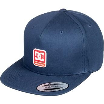 Cappellino visiera piatta blu marino snapback Snapdragger di DC Shoes