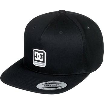 Cappellino visiera piatta nero snapback Snapdragger di DC Shoes
