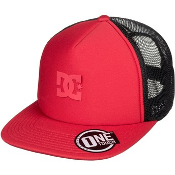 Cappellino trucker rosso Greet Up di DC Shoes