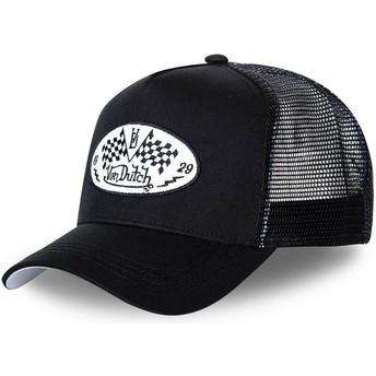 Cappellino trucker nero DAM BLA di Von Dutch
