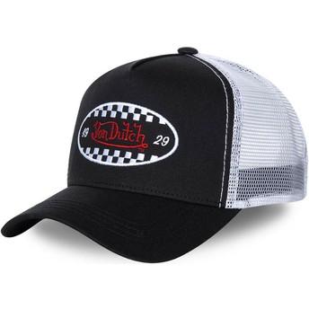 Cappellino trucker nero e biancoFIN BLA di Von Dutch