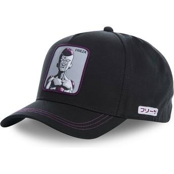 Cappellino visiera curva nero snapback Frieza FREC Dragon Ball di Capslab