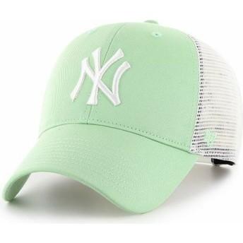 Cappellino trucker verde chiaro MVP Flagship di New York Yankees MLB di 47 Brand
