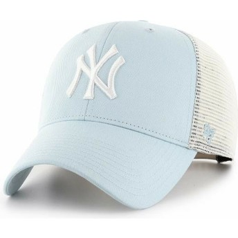 Cappellino trucker blu chiaro MVP Flagship di New York Yankees MLB di 47 Brand