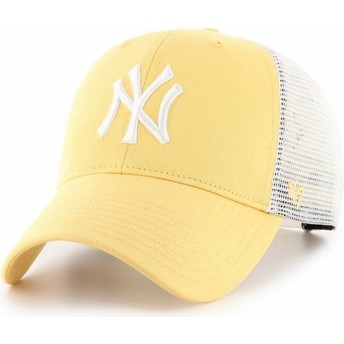 Cappellino trucker giallo MVP Flagship di New York Yankees MLB di 47 Brand