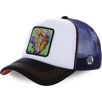 Cappellino trucker bianco, blu e nero Master Roshi KAM6M Dragon Ball di Capslab