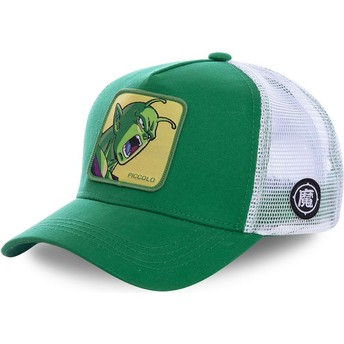 Cappellino trucker verde e bianco Piccolo PIC1 Dragon Ball di Capslab