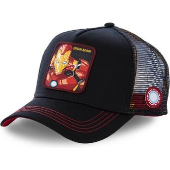 Cappellino trucker nero Iron Man IRO2 Marvel Comics di Capslab