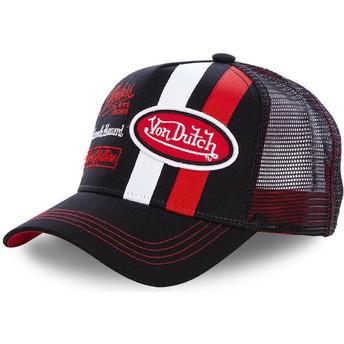 Cappellino trucker nero MCQBLA di Von Dutch