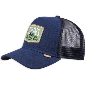 Cappellino trucker blu marino Nothing Club Sucker di Djinns