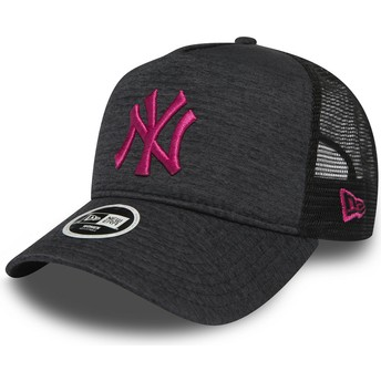 Cappellino trucker grigio 9FORTY Essential Maglione di New York Yankees MLB di New Era