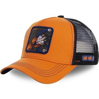 Cappellino trucker arancione Goten Fusion GTN1 Dragon Ball di Capslab