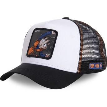 Cappellino trucker bianco Goten Fusion GTN3 Dragon Ball di Capslab