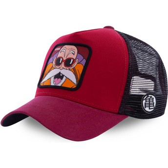 Cappellino trucker rosso Master Roshi KAM5 Dragon Ball di Capslab