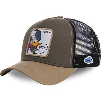 Cappellino trucker marrone Paperino DON1 Disney di Capslab