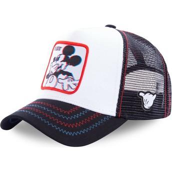 Cappellino trucker bianco Topolino Floatin FLO Disney di Capslab