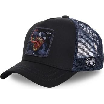Cappellino trucker nero Venom VEN1 Marvel Comics di Capslab