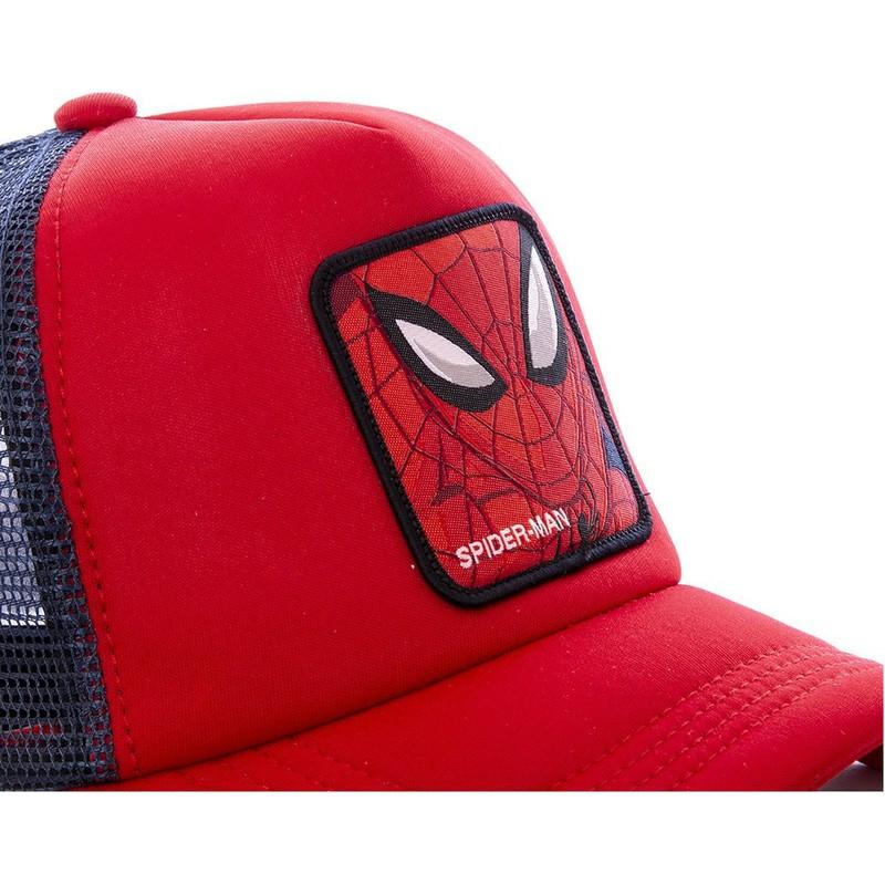 Berretto da baseball colore: Rosso Spiderman taglia unica