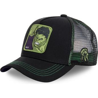 Cappellino trucker nero Hulk HLK2 Marvel Comics di Capslab