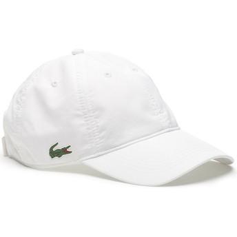 Cappellino visiera curva bianco regolabile Basic Dry Fit di Lacoste