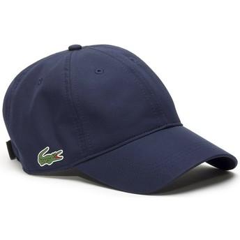 Cappellino visiera curva blu marino regolabile Basic Dry Fit di Lacoste