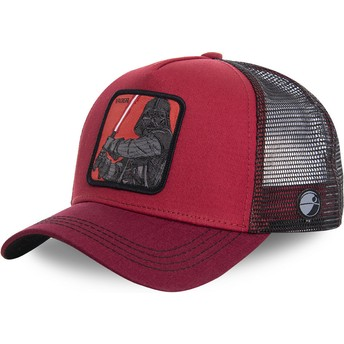 Cappellino trucker rosso Darth Vader VAD Star Wars di Capslab