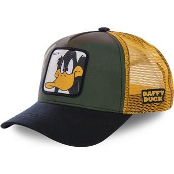 Cappellino trucker mimetico, giallo e nero Daffy Duck DAF4 Looney Tunes di Capslab