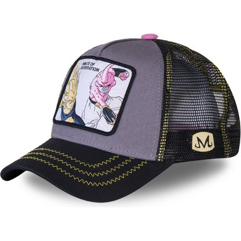 Cappellino trucker grigio Vegeta Vs Kid Buu Minute of Desperation DES1 Dragon Ball di Capslab