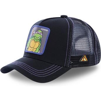 Cappellino trucker nero Donatello DON Tartarughe Ninja di Capslab