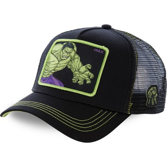 Cappellino trucker nero Hulk HLK5 Marvel Comics di Capslab