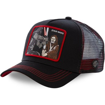 Cappellino trucker nero Darth Vader Vs Obi-Wan LTD2 Star Wars di Capslab