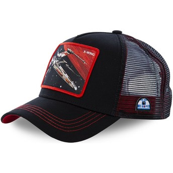 Cappellino trucker nero X-wing starfighter LTD6 Star Wars di Capslab