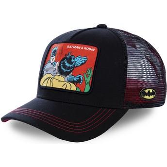 Cappellino trucker nero Batman & Robin MEM2 DC Comics di Capslab